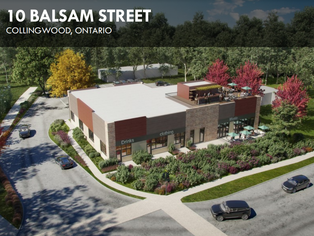 10 Balsam Street Collingwood Ontario For Lease Core Consultants Realty